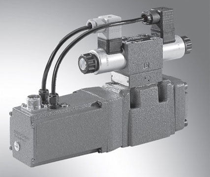 Proportional directional valves, pilot operated, with integral electronics